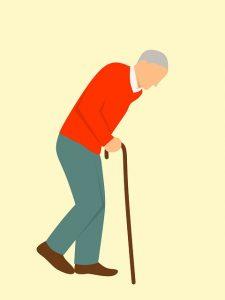 starcek s bolavym chrbtom